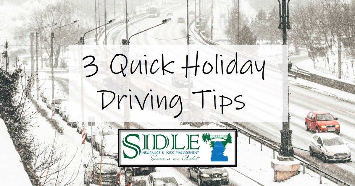 3 Holiday Driving Tips