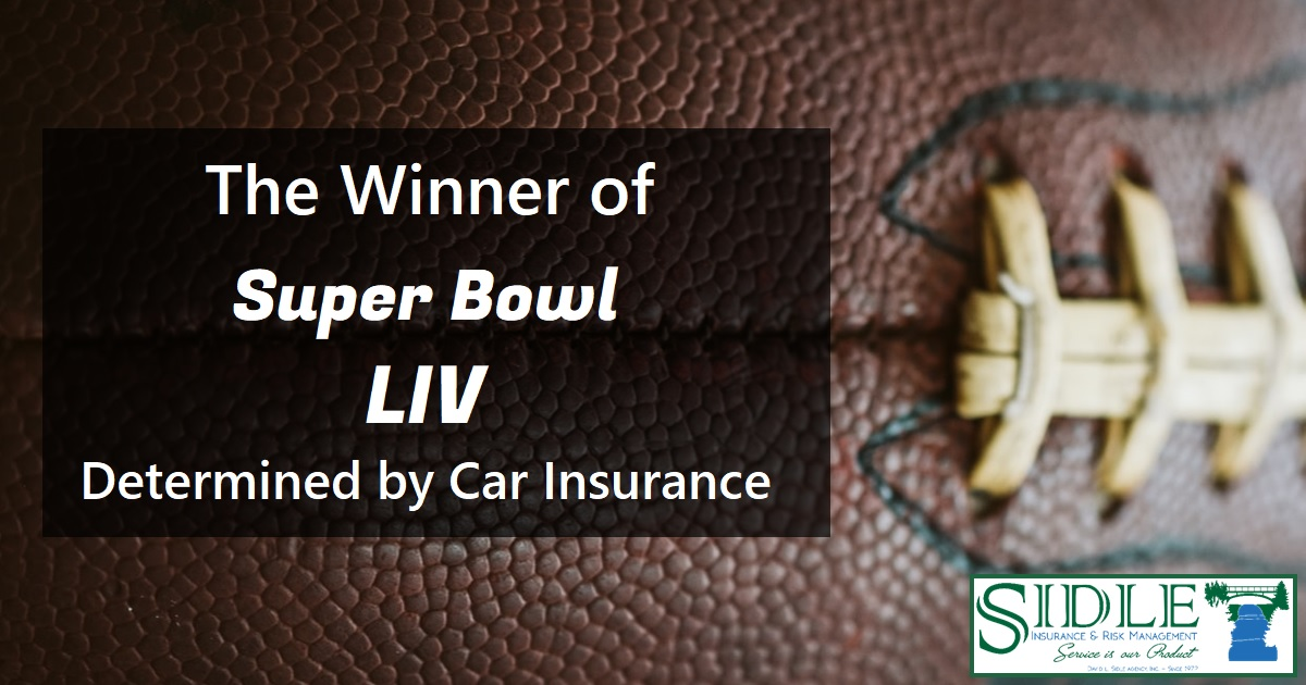 Title Photo - The Winner of Super Bowl LIV Determined by Car Insurance