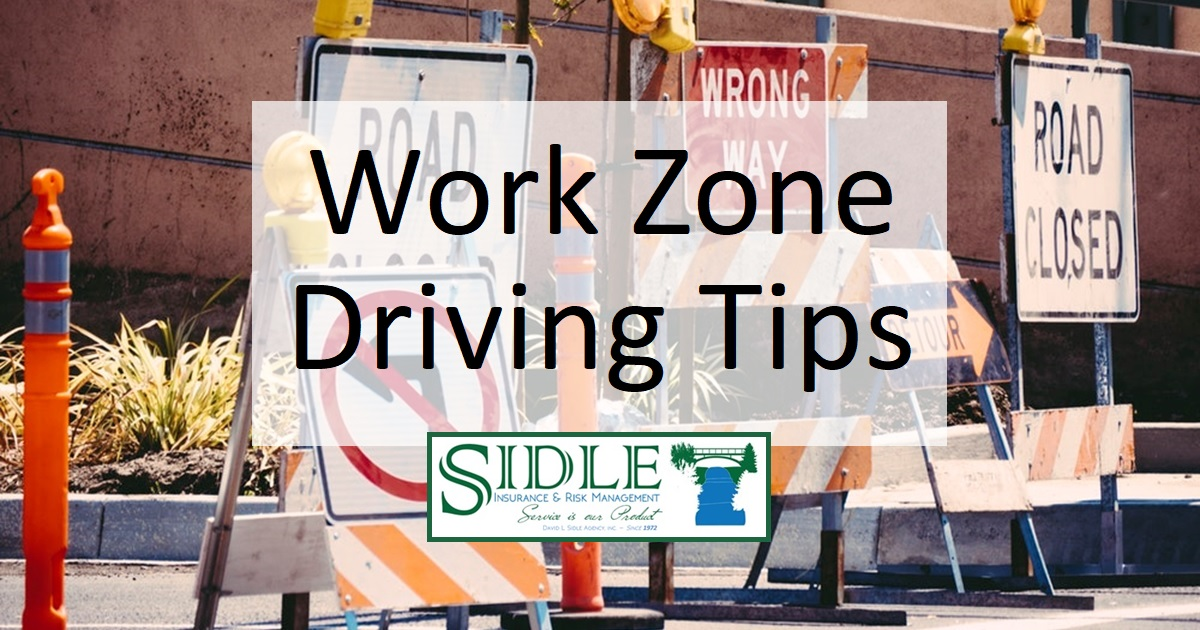 Title Photo - Work Zone Driving Tips